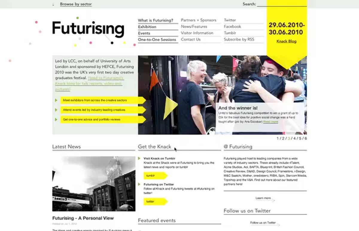 Cover futurising 2